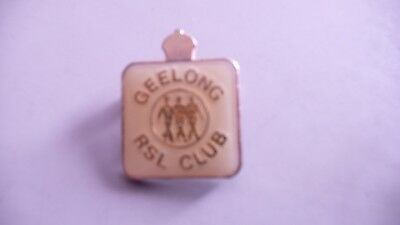 Geelong RSL Returned Soldiers League lapel badge