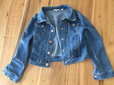 Country Road Girls Denim Jacket Size 6/7