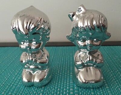 Praying Children Salt And Pepper Shakers!