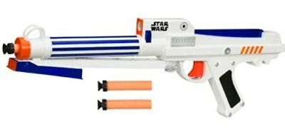 HASBRO Star Wars Clone Trooper BLASTER LN with 3 Darts / soft bullets ~ nerf gun