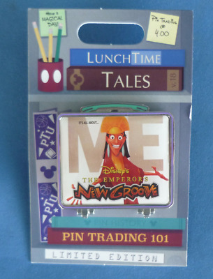 Disney Lunch Time Tales The Emperor's New Groove LE 1500 2018 Pin Box Lunchbox