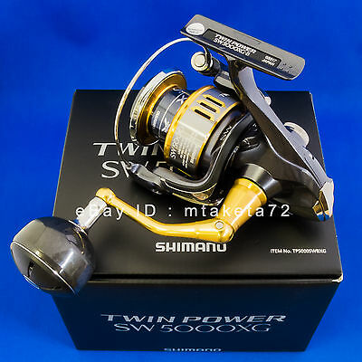 43e21ab9436 Shimano 15 TWIN POWER SW 5000XG, Spinning Reel Made In Japan, 033178