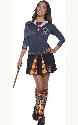 Licensed Gryffindor Harry Potter Hermione Adult Skirt Book Week Costume