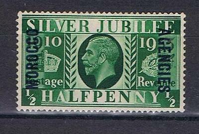 Morocco Agencies 1935 KGV Silver Jubilee ½d SG 62 Mint MH
