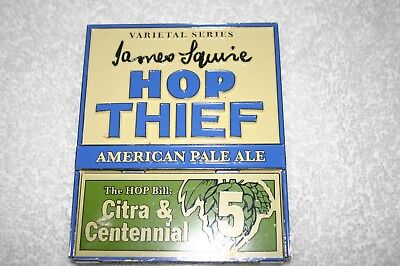 James Squire Hop Thief No5 Beer Tap Top Badge/Decal