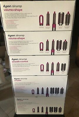 Dyson Airwrap Smooth Volume or Complete styler for different hair type brand new