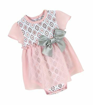 34fcda3d002 Stephan Baby Snapshirt-Style Chiffon Skirted Diamond Flower Diaper Cover