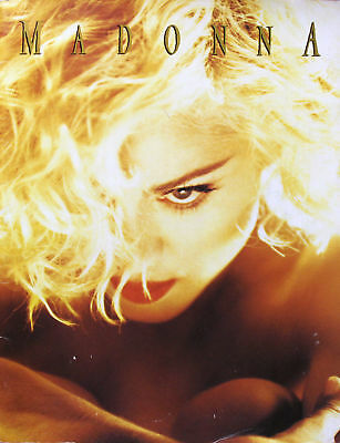Madonna 1990 programme Original Blond Ambition World Tour Program