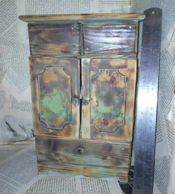 Odd Wardrobe Bedroom draws Wooden Apprentice Piece? Miniature odd item