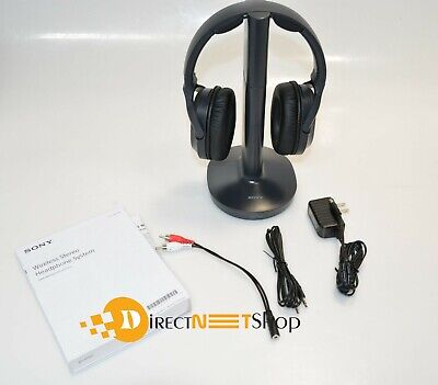 Sony MDR-RF995RK RF Wireless Headphones for TV with an original sony Batteries
