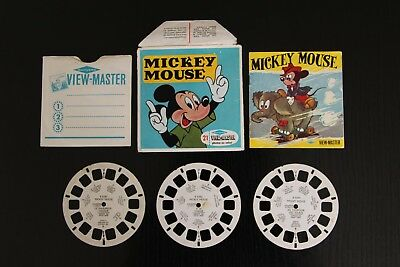 """View-master """"Mickey Mouse""""."""