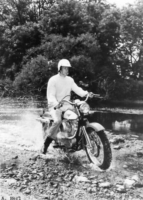 Harley Davidson XLCH Sportster 1959 Clyde Denzer motorcycle photo photograph