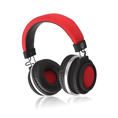 Audiomate BT980 Stereo HD Audio Bluetooth Wireless Over-Ear Headphones | Buil...