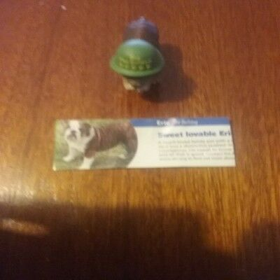 Eric The Bulldog Yowie Ranger Series With Paper Rare