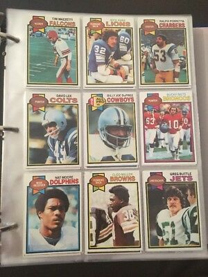Topps 1979 NFL 32 Card Lot