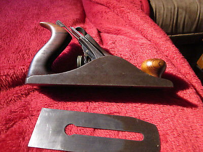 Vintage Stanley Bailey No: 4 1/2 Wood Plane, Made In USA type 9.