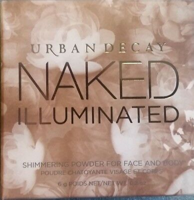 URBAN DECAY NAKED Illuminated Shimmer Powder For Face And Body AURA - 6g