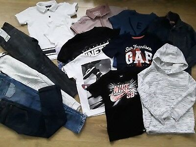 Boy bundle clothes jeans t-shirt tops hoodie Next Gap Nike size 5-6 years