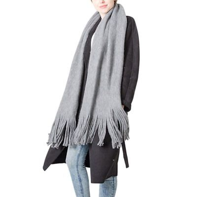 Women Thick Artificial Wool Cashmere Stole Scarves Scarf Winter Warm Shawl Wraps