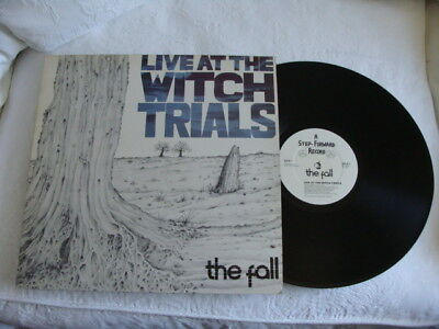 lp the fall-live at the witch trials 1979  step forward record sflp 1