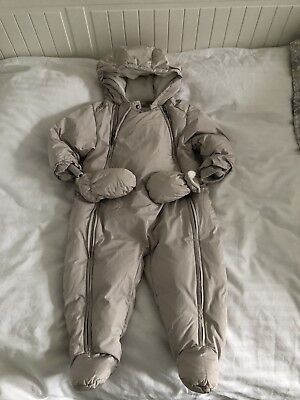 Burberry Snowsuit aged 9 Months Boys or Girls