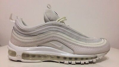Nike Air Max 97 Summit White/Silver, Size UK 9 / Only Worn Once!