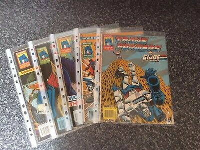Vintage Transformers Comic Issues 271 272 273 274 275 Marvel Uk