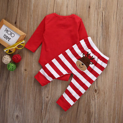 My First Christmas Deer Pyjamas Set **Christmas Delivery - LAST FEW REMAINING**
