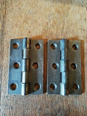Pair of Sirdar hinges 3 1/2""