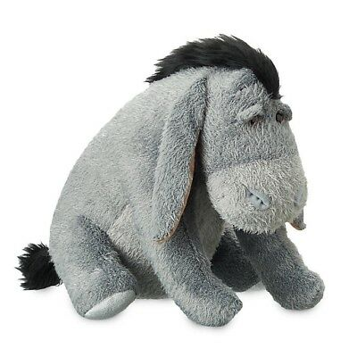 Disney Store Eeyore Winnie The Pooh Soft Toy Plush BNWT Christopher Robin Movie