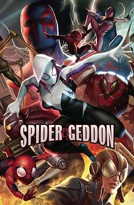 Spider-Geddon #3 (Of 5) In Hyuk Lee Connecting Variant (07/11/2018)