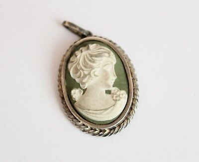 Faberge imperial Russian  84 Silver Pendant 19th century