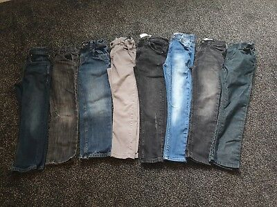 Large Bundle Of Boys Jeans Age 7-8