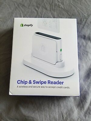 Shopify Chip & Swipe Credit Card Reader for iOS and Android