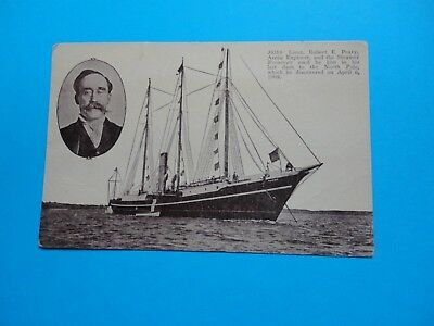 U.s.a. Arctic. Polar Explorer. Peary Arctic Discovery.peary's Arctic Ship Roose.