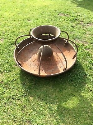 Mexican Hat Style Cast Iron Pig Trough/Garden Planter