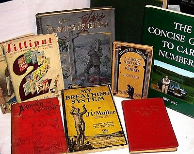 COLLECT VINTAGE BOOKS & MAGAZINES 1880/1983 ~ click SELECT to browse or order