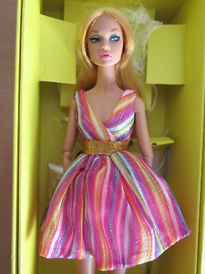 "Poppy Parker Doll 2015 W Club Exclusive The Model Scene ""Groovy Galore """