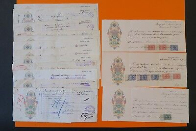 Russian Bond Russian Exchange Adjustment Nice Cachet & Stamps X 16 Letters