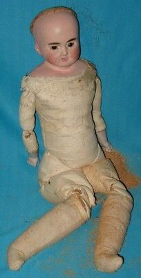 HELP!!!!! Antique Bisque Doll with Leather Body