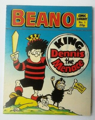 Beano Comic Library number 1 Dennis the Menace 1982