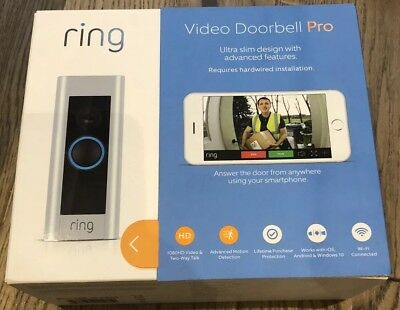 Ring Doorbell Pro - Kit with Chime and Transformer, 1080p HD