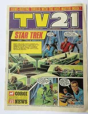 TV21 Comic No. 56 dated 17/10/1970