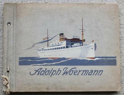 German East Africa Line Rare Photo Album As Purchased Onboard C-1930'S