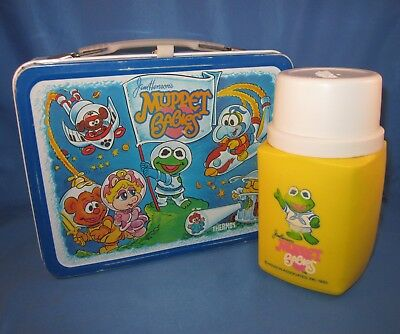 Vintage 1985 MUPPET BABIES Thermos Brand Lunchbox & Bottle