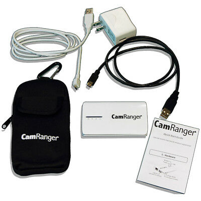 CamRanger Wireless Nikon/Canon Camera Controller with Tether Tools' Mighty Mount