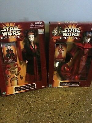 Star Wars Episode 1 Queen Amidala Royal Elegance, Ultimate Hair 12 Inches Tall