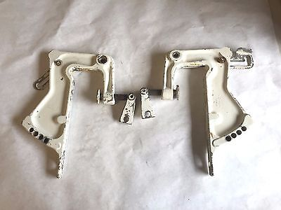 1965 Sears 35 HP Outboard Motor Model 571 59415 TRANSOM CLAMP BRACKETS