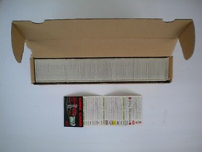 Vintage Coca Cola Coke 1999 Advertising Discount Cards Full Case of 126 Mint