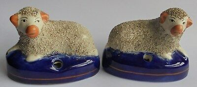 Pair of Antique or Vintage ink wells or Quil Pen Holders. Good Condition.